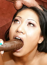 BBC for her petite anal hole
